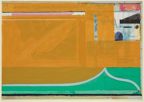 Artwork: Richard Diebenkorn | Ochre