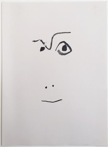 "Artwork: Pablo Picasso | From the portfolio ""Picasso de 1916-1961"" by Jean Cocteau"