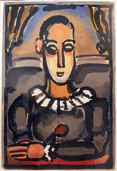 Artwork: Georges Rouault | Pierrot Noir