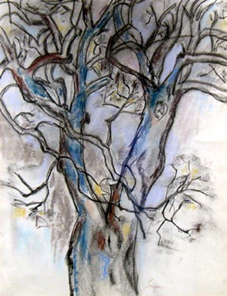 Artwork: Frederick Serger | Untitled (Tree Branches)