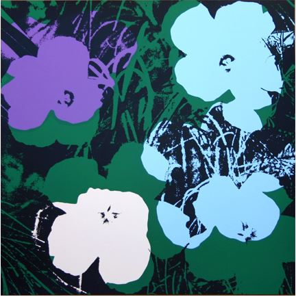 Artwork: Sunday B. Morning after Andy Warhol | Flowers 11.64