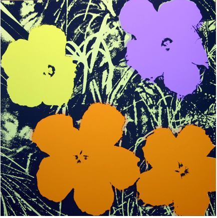 Artwork: Sunday B. Morning with Andy Warhol | Flowers (11.67)