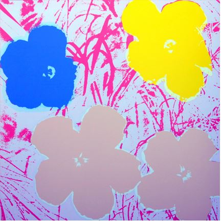 Artwork: Sunday B. Morning after Andy Warhol | Flowers (11.70)