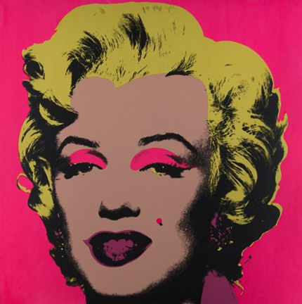 Artwork: Sunday B. Morning after Andy Warhol | Marilyn Monroe 11.31