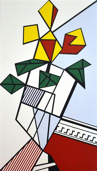 Artwork: Roy Lichtenstein | Flowers