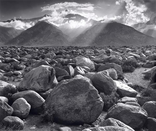 Artwork: Ansel Adams | Mount Williamson from Manzanar, California