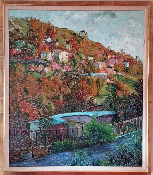 Artwork: Marco Sassone | View From Temple Hills