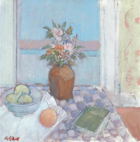 John Heliker | Still Life Before a Window